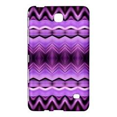 Purple Pink Zig Zag Pattern Samsung Galaxy Tab 4 (7 ) Hardshell Case  by BangZart