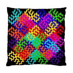 3d Fsm Tessellation Pattern Standard Cushion Case (two Sides) by BangZart