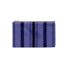 Zig Zag Repeat Pattern Cosmetic Bag (small)  by BangZart