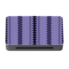 Zig Zag Repeat Pattern Memory Card Reader With Cf by BangZart