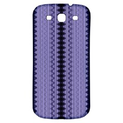 Zig Zag Repeat Pattern Samsung Galaxy S3 S Iii Classic Hardshell Back Case by BangZart
