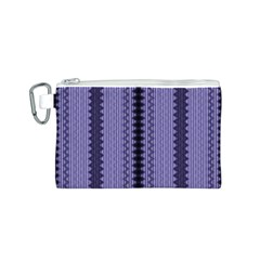 Zig Zag Repeat Pattern Canvas Cosmetic Bag (s) by BangZart