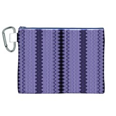 Zig Zag Repeat Pattern Canvas Cosmetic Bag (xl) by BangZart