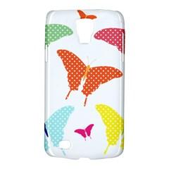 Beautiful Colorful Polka Dot Butterflies Clipart Galaxy S4 Active by BangZart