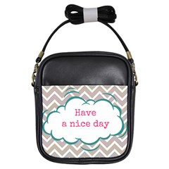 Have A Nice Day Girls Sling Bags by BangZart