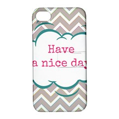 Have A Nice Day Apple Iphone 4/4s Hardshell Case With Stand by BangZart