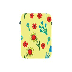 Flowers Fabric Design Apple Ipad Mini Protective Soft Cases by BangZart
