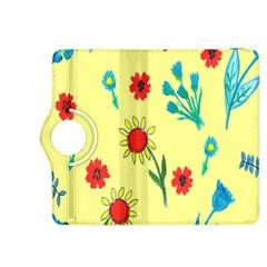 Flowers Fabric Design Kindle Fire Hdx 8 9  Flip 360 Case by BangZart