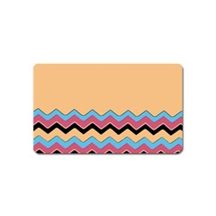 Chevrons Patterns Colorful Stripes Magnet (name Card) by BangZart