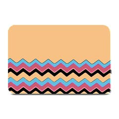 Chevrons Patterns Colorful Stripes Plate Mats by BangZart