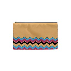 Chevrons Patterns Colorful Stripes Cosmetic Bag (small)  by BangZart