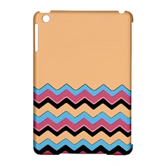 Chevrons Patterns Colorful Stripes Apple Ipad Mini Hardshell Case (compatible With Smart Cover) by BangZart