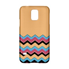 Chevrons Patterns Colorful Stripes Samsung Galaxy S5 Hardshell Case  by BangZart