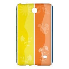 Floral Colorful Seasonal Banners Samsung Galaxy Tab 4 (7 ) Hardshell Case  by BangZart