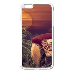 Tropical Style Collage Design Poster Apple Iphone 6 Plus/6s Plus Enamel White Case by dflcprints