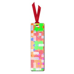 Abstract Polka Dot Pattern Small Book Marks by BangZart