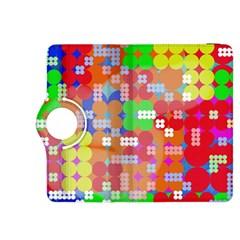 Abstract Polka Dot Pattern Kindle Fire Hdx 8 9  Flip 360 Case by BangZart