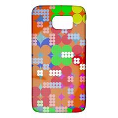 Abstract Polka Dot Pattern Galaxy S6 by BangZart