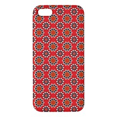 Floral Seamless Pattern Vector Apple Iphone 5 Premium Hardshell Case by BangZart