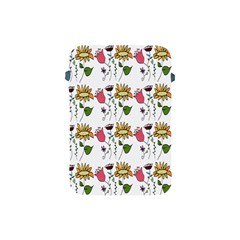 Handmade Pattern With Crazy Flowers Apple Ipad Mini Protective Soft Cases by BangZart