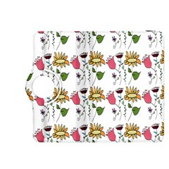 Handmade Pattern With Crazy Flowers Kindle Fire Hdx 8 9  Flip 360 Case by BangZart