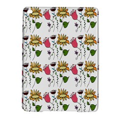 Handmade Pattern With Crazy Flowers Ipad Air 2 Hardshell Cases by BangZart