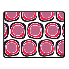 Wheel Stones Pink Pattern Abstract Background Fleece Blanket (small) by BangZart