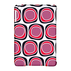 Wheel Stones Pink Pattern Abstract Background Apple Ipad Mini Hardshell Case (compatible With Smart Cover) by BangZart