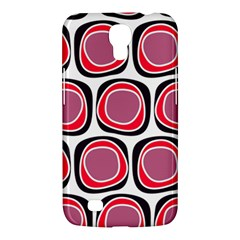 Wheel Stones Pink Pattern Abstract Background Samsung Galaxy Mega 6 3  I9200 Hardshell Case by BangZart