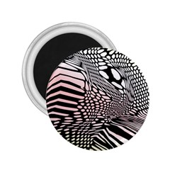 Abstract Fauna Pattern When Zebra And Giraffe Melt Together 2 25  Magnets by BangZart