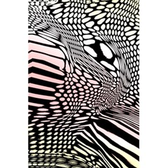Abstract Fauna Pattern When Zebra And Giraffe Melt Together 5 5  X 8 5  Notebooks by BangZart