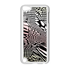Abstract Fauna Pattern When Zebra And Giraffe Melt Together Apple iPod Touch 5 Case (White) by BangZart