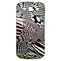 Abstract Fauna Pattern When Zebra And Giraffe Melt Together Samsung Galaxy S3 S Iii Classic Hardshell Back Case by BangZart