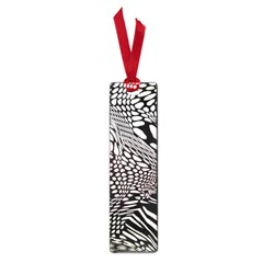 Abstract Fauna Pattern When Zebra And Giraffe Melt Together Small Book Marks by BangZart