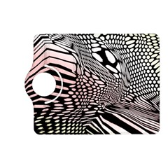 Abstract Fauna Pattern When Zebra And Giraffe Melt Together Kindle Fire Hd (2013) Flip 360 Case by BangZart