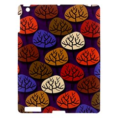 Colorful Trees Background Pattern Apple Ipad 3/4 Hardshell Case by BangZart