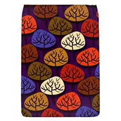 Colorful Trees Background Pattern Flap Covers (s)  by BangZart