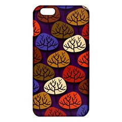 Colorful Trees Background Pattern Iphone 6 Plus/6s Plus Tpu Case by BangZart