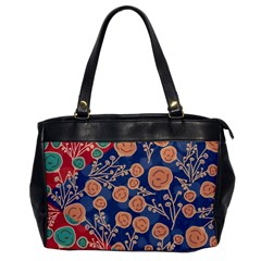 Floral Seamless Pattern Vector Texture Office Handbags by BangZart