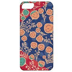 Floral Seamless Pattern Vector Texture Apple Iphone 5 Classic Hardshell Case by BangZart
