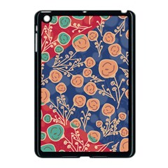 Floral Seamless Pattern Vector Texture Apple Ipad Mini Case (black) by BangZart