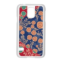 Floral Seamless Pattern Vector Texture Samsung Galaxy S5 Case (white) by BangZart