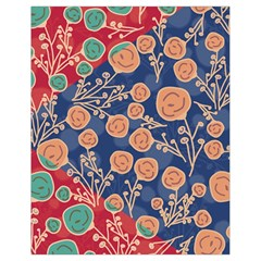 Floral Seamless Pattern Vector Texture Drawstring Bag (small) by BangZart