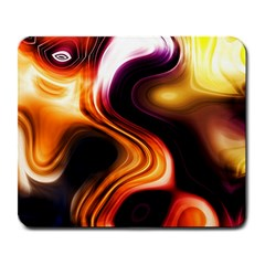 Colourful Abstract Background Design Large Mousepads by BangZart
