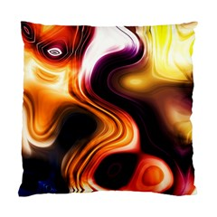 Colourful Abstract Background Design Standard Cushion Case (two Sides) by BangZart
