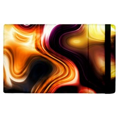Colourful Abstract Background Design Apple Ipad 2 Flip Case by BangZart