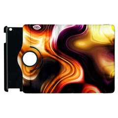 Colourful Abstract Background Design Apple Ipad 3/4 Flip 360 Case by BangZart
