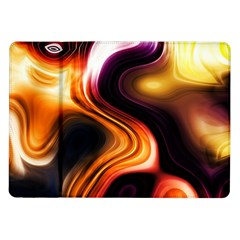 Colourful Abstract Background Design Samsung Galaxy Tab 10 1  P7500 Flip Case by BangZart