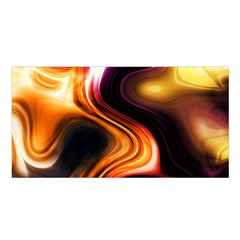 Colourful Abstract Background Design Satin Shawl by BangZart