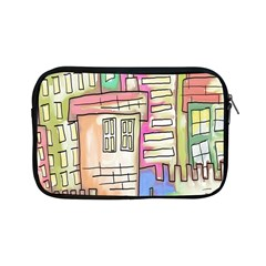 A Village Drawn In A Doodle Style Apple Ipad Mini Zipper Cases by BangZart